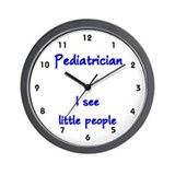 Pediatrician Wall Clock