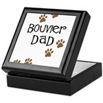 Bouvier Dad Keepsake Box