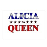 ALICIA for queen Postcards (Package of 8)