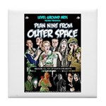 Plan Nine From Outer Space Tile Coaster
