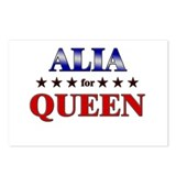 ALIA for queen Postcards (Package of 8)