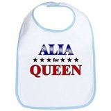ALIA for queen Bib