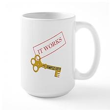 It Works with Simple Keys mug