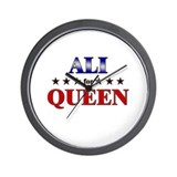 ALI for queen Wall Clock