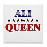 ALI for queen Tile Coaster