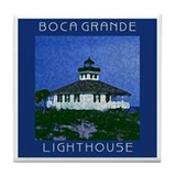 Boca Grande Lighthouse Tile Trivet/Coaster