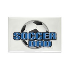Soccer Dad Rectangle Magnet (10 pack)