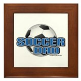 Soccer Dad Framed Tile