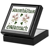 Irish Grandmother (Floral) Keepsake Box