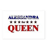 ALESSANDRA for queen Postcards (Package of 8)