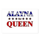 ALAYNA for queen Postcards (Package of 8)