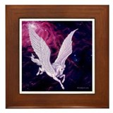 Space Pegasus ~ Framed Tile