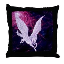 Space Pegasus ~ Throw Pillow
