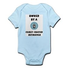 Owned by a Curly Coat Infant Creeper