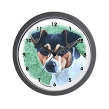 Rat Terrier Wall Clock