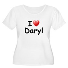 I Love Daryl (Black) T-Shirt