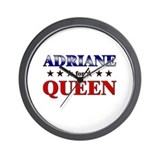 ADRIANE for queen Wall Clock