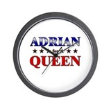 ADRIAN for queen Wall Clock