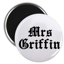"Mrs Griffin 2.25"" Magnet (10 pack)"