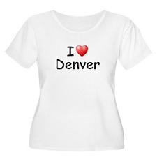 I Love Denver (Black) T-Shirt