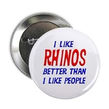 "I Like Rhinos 2.25"" Button"