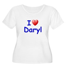 I Love Daryl (Blue) T-Shirt