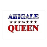 ABIGALE for queen Postcards (Package of 8)