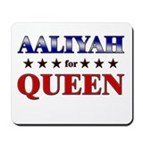 AALIYAH for queen Mousepad
