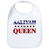 AALIYAH for queen Bib