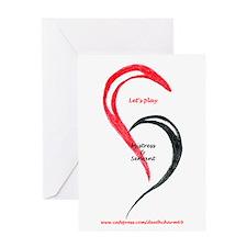 Heart Mistress Servant Greeting Card
