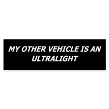 Ultralight Bumper Car Sticker