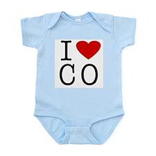 I Love Colorado (CO) Infant Creeper