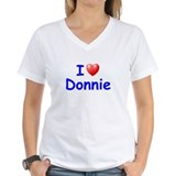 I Love Donnie (Blue) Shirt