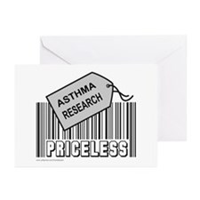 ASTHMA CAUSE Greeting Cards (Pk of 10)