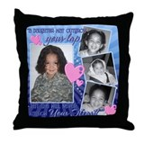 Byron's Throw Pillow