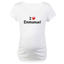 I Love Emmanuel (Black) Shirt