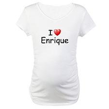 I Love Enrique (Black) Shirt