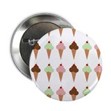 "Ice Cream Trio 2.25"" Button (10 pack)"