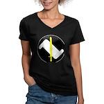 An Tir MoL Women's V-Neck Dark T-Shirt