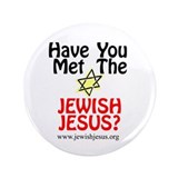 "Jewish Jesus 3.5"" Button (100 pack)"