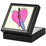 Cute Art Keepsake Box