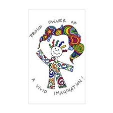 Cute Vivid imagination Decal