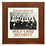 Holy-Land Security Framed Tile