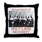 Holy-Land Security Throw Pillow