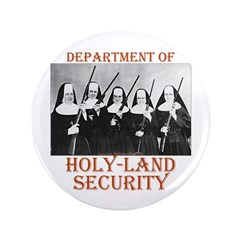 "Holy-Land Security 3.5"" Button"