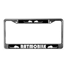 Ratmobile License Plate Frame