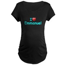 I Love Emmanuel (Lt Blue) T-Shirt
