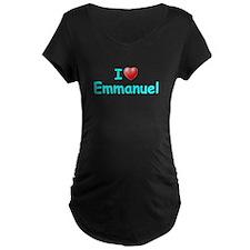 I Love Emmanuel (Lt Blue) T-Shirt