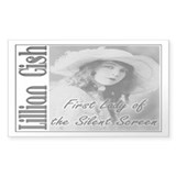 Lillian Gish Rectangle Decal
