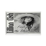 Lillian Gish Rectangle Magnet (100 pack)